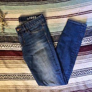 GAP 1969 Always Skinny Jeans Long